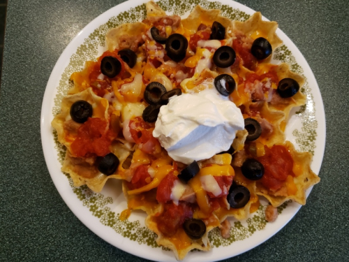 Nachos for Christmas lunch