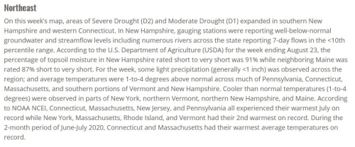 Drought Monitor 8-27-20