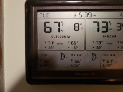 Low humidity 3-23-21