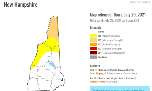 7-27-21 drought monitor