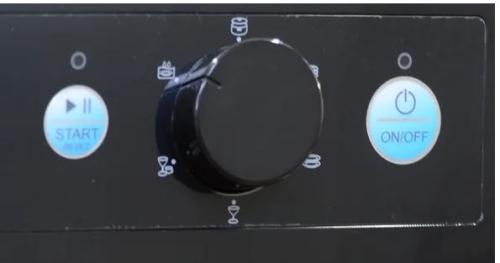 Old Dishwasher controls