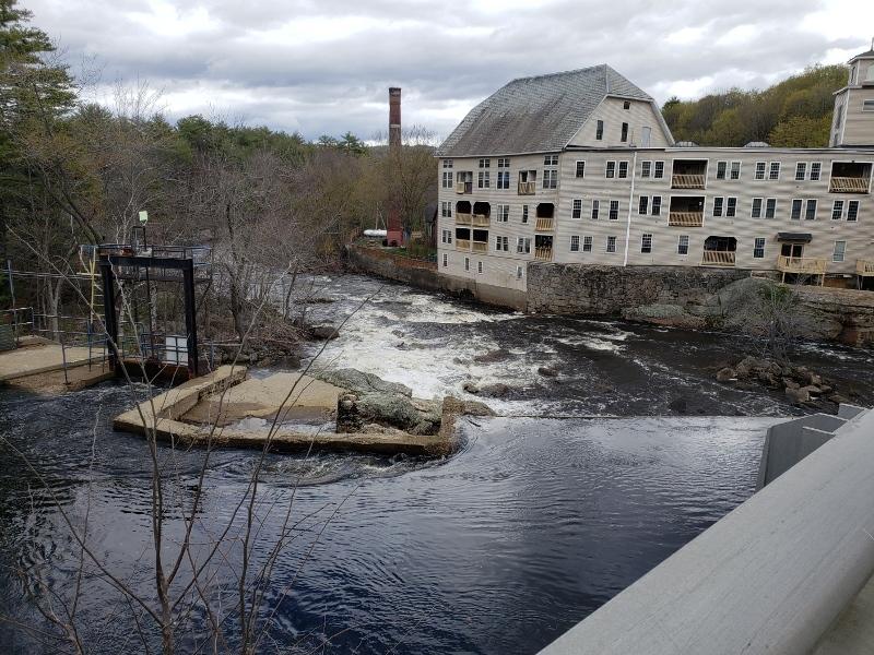 River rise - long view