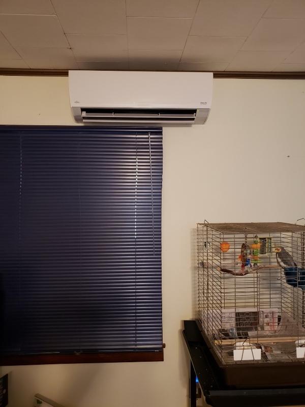 Living Room AC head