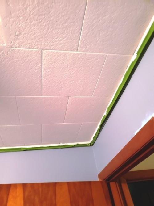 Ceiling painted-trnd